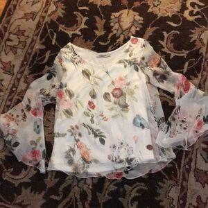Italian Silk Blouse NWOT